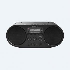 Boombox Sony con CD ZS-PS50 color negra