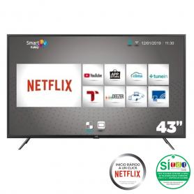 "Televisor Kalley 43""FHD LED43FHDSFBT Smart TV/ Bluetooth/Netflix"