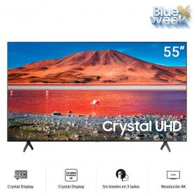 "Televisor Samsung 55""Crystal UHD UN55TU7000 Smart One Remote"