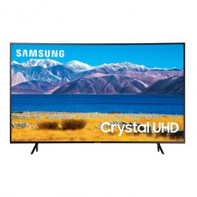 "Televisor Samsung Curvo 55"" Crystal 4k UN55TU8300 Smart TV One Remote"