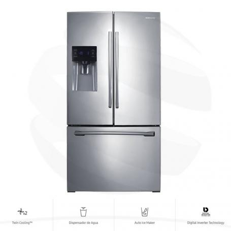 Nevecón Samsung RF263BEAESL French Door 682 Lt Inoxidable