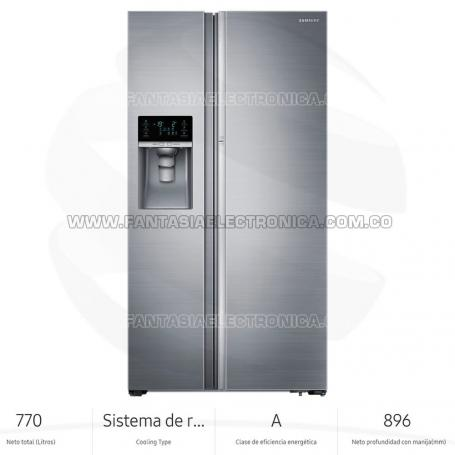 Nevecón Samsung RH77H80307H Side By Side 806Lt Food Show Case