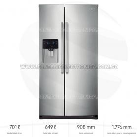 Nevecón Samsung RS25H5005SL Side By Side con Digital Inverter Technology, 649 L